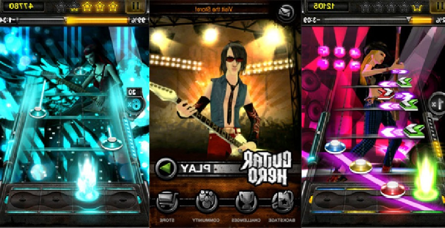 aplicacion guitar hero iphone